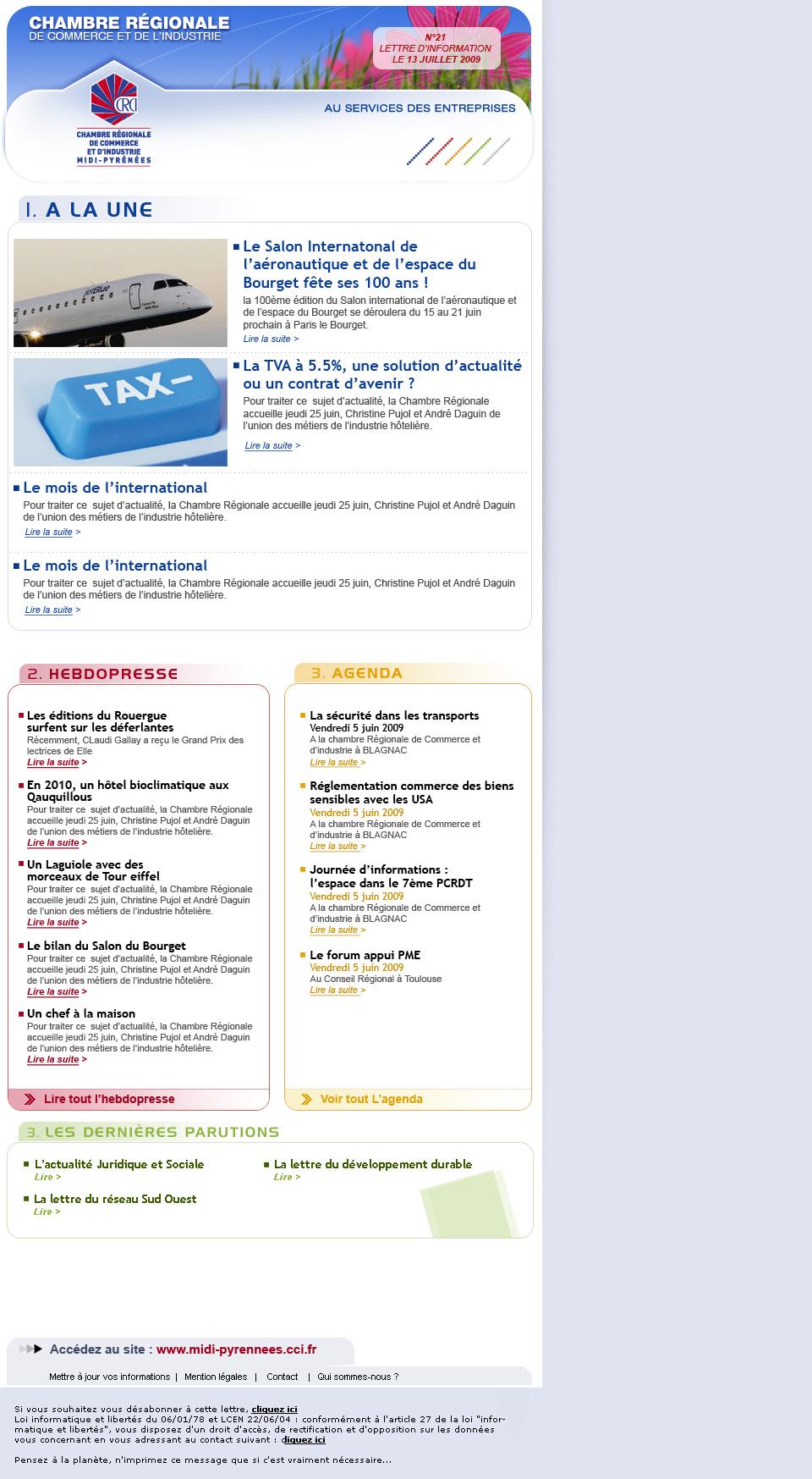 Studio web designer l 39 le du boucanier webdesign pour la - Chambre de commerce et d industrie de l essonne ...